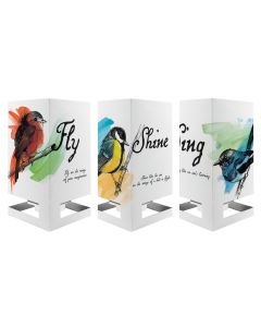 Cardle 2-in-1 Candle Holder Greeting Card - Flight of Fancy (3 Variations)