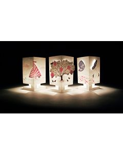 Cardle 2-in-1 Candle Holder Greeting Card - Chirpy Breeze (3 Variations)