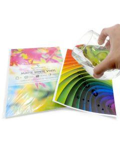 A4 Waterproof Laser Matte White Vinyl Labels