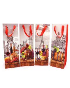 Wine Gift Bags - Cities
