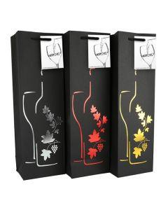 Wine Gift Bags - Leaves
