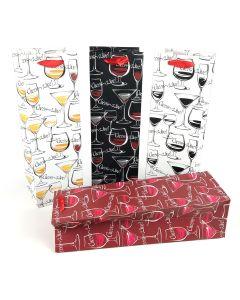 Wine Gift Bags - Cheers