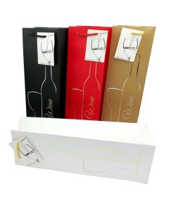 Wine Gift Bags - Lux